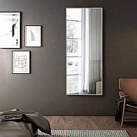 Зеркало в серой алюминиевой раме | Дзеркало в сірій алюмінієвій рамі, фото 1