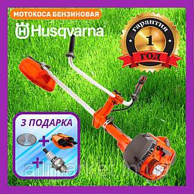 Мотокоса Бензиновая Хускварна для травы Бензокоса HUSQVARNA 465 R Улучшенная Триммер бензиновый Husqvarna