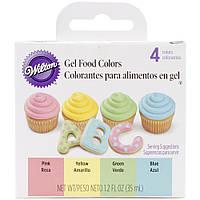 Набор гелевых пищевых красителей от Wilton - GEL ICING COLOR SET