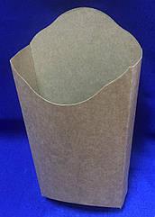 (142617) Упаковка КРАФТ-БІЛА для картоплі фрі Махі, 50шт/уп