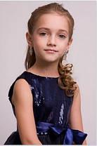 """Детское нарядное платье """"Сапфир"""" , фото 3"""