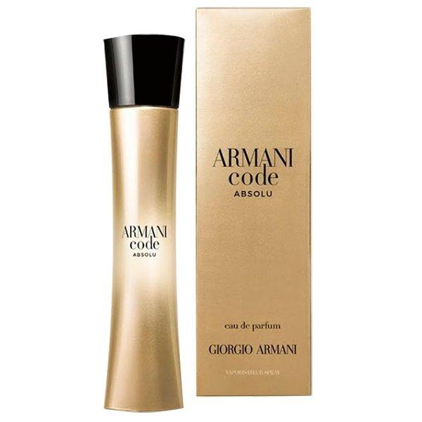 Парфюмированная вода Giorgio Armani Code Absolu Femme для женщин  - edp 75 ml