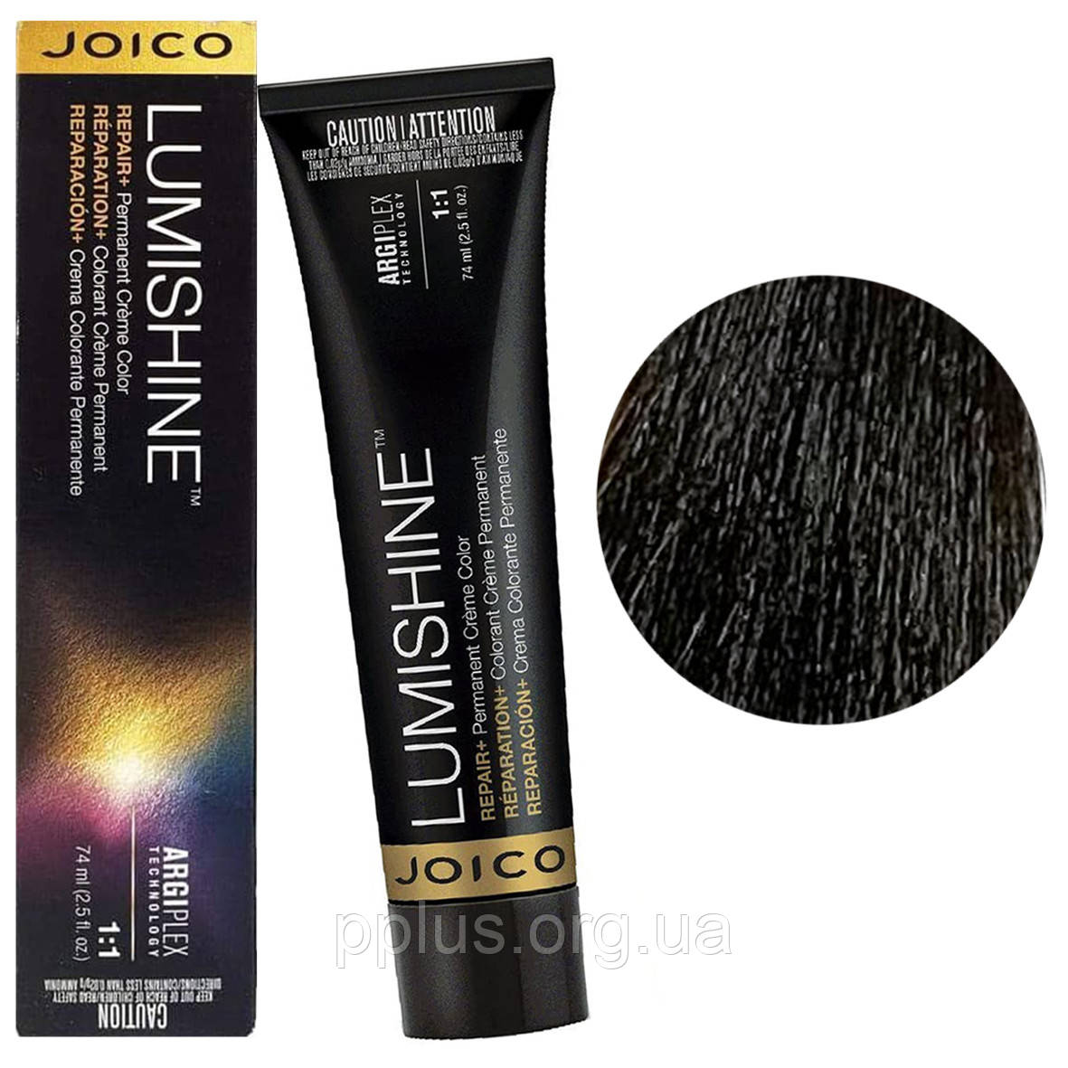 Перманентна крем-фарба для волосся Joico Lumishine Color в асортименті 74 мл 4NG/4.03 Середньо-коричневий
