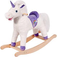 Качалка лошадка детская Белый Единорог