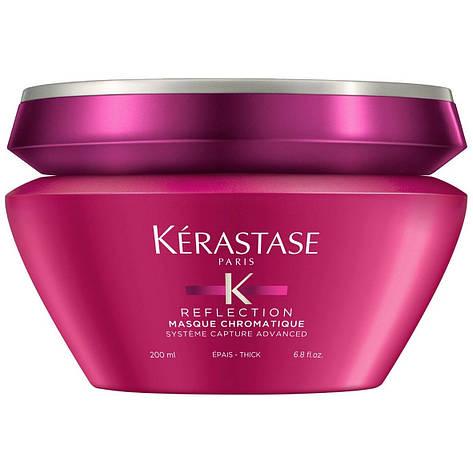 Маска для захисту кольору товстого фарбованого волосся Kerastase Reflection Mask Chromatique, фото 2