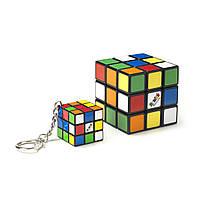 Набір головоломок 3х3 rubik's КЛАСИЧНА УПАКОВКА - КУБИК І МІНІ-КУБИК (з кільцем) 6062800