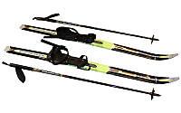 Лижі бігові в комплекті з палицями 100А (l-лиж-100см, l-пал.-80см, PVC чохол, кріпл. Нерег)