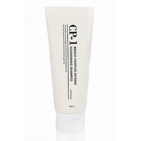 Интенсивно питающий шампунь с протеинами Esthetic House CP-1 Nourishing Shampoo 100 мл, фото 2