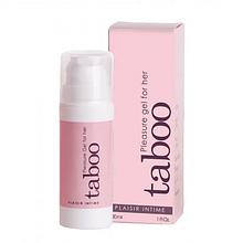 Стимулирующий клиторальный гель TABOO PLEASURE GEL FOR HER, 30 ml