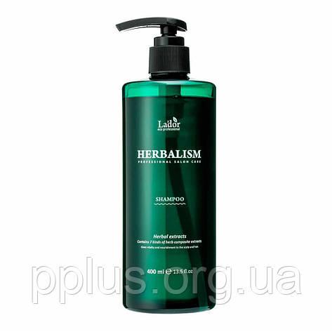 Заспокійливий трав'яний шампунь Lador Herbalism Shampoo 400 мл, фото 2