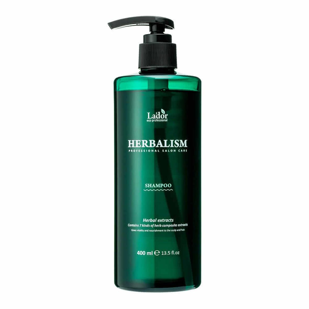 Заспокійливий трав'яний шампунь Lador Herbalism Shampoo 400 мл