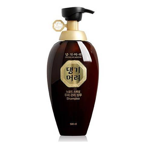 Укрепляющий шампунь для жирной кожи головы Daeng Gi Meo Ri New Gold Special Shampoo 500 мл, фото 2