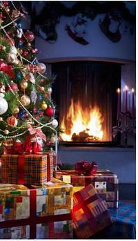 Обогреватель-картина инфракрасный настенный ТРИО 400W 100 х 57 см, Новый год