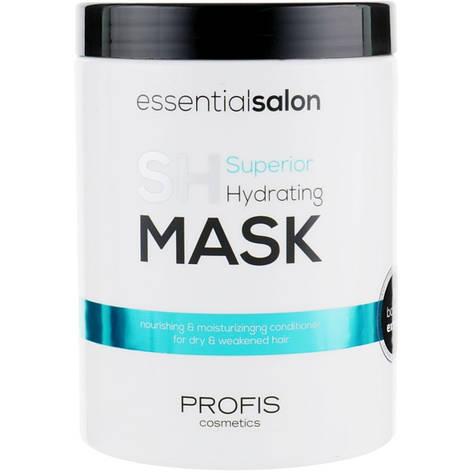 Зволожуюча Маска для волосся Profis Superior Hydrating 1000 мл, фото 2
