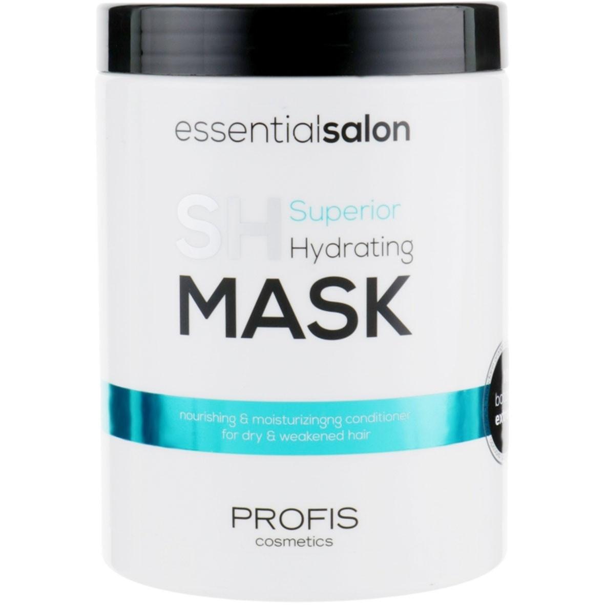 Зволожуюча Маска для волосся Profis Superior Hydrating 1000 мл