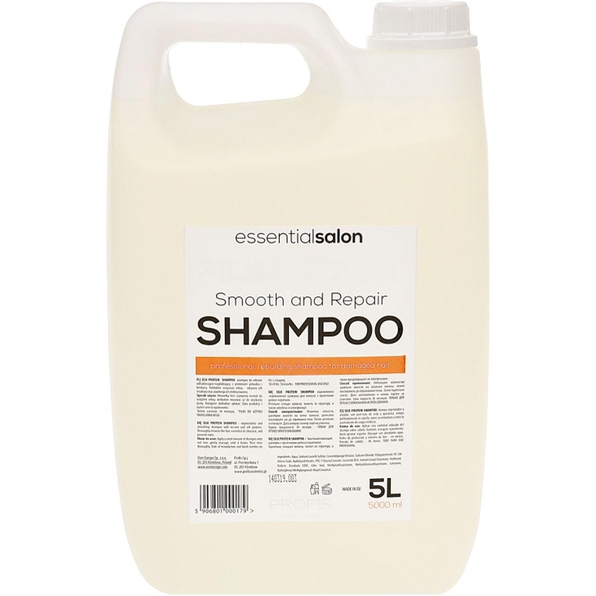 Шампунь для волос с протеинами шелка Profis Silk Protein 5000 мл
