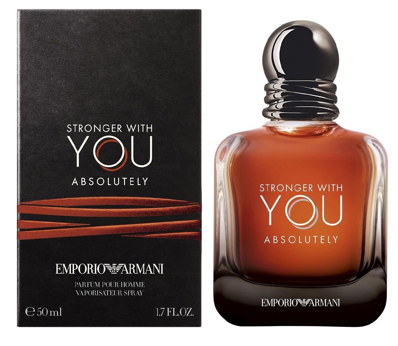 Духи Giorgio Armani Emporio Armani Stronger With You Absolutely для чоловіків - parfum 50 ml