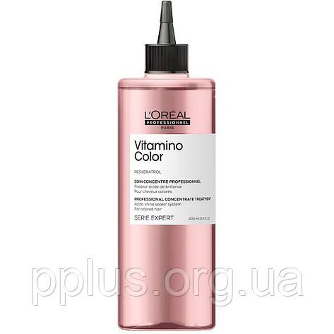 Концентрат для фарбованого волосся LOreal Vitamino Color Concentrate 400 мл, фото 2