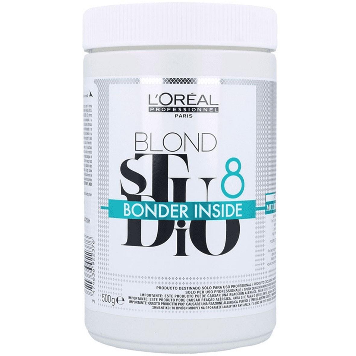 Пудра для освітлення волосся з бондером LOreal Blond Studio Powder 500 г