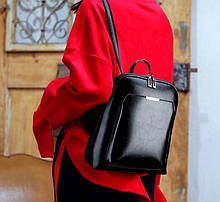 Жіночий стильний класичний рюкзак Aliri-00109 чорний