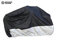 Моточехол Speed Gear Deluxe Black/Silver, M