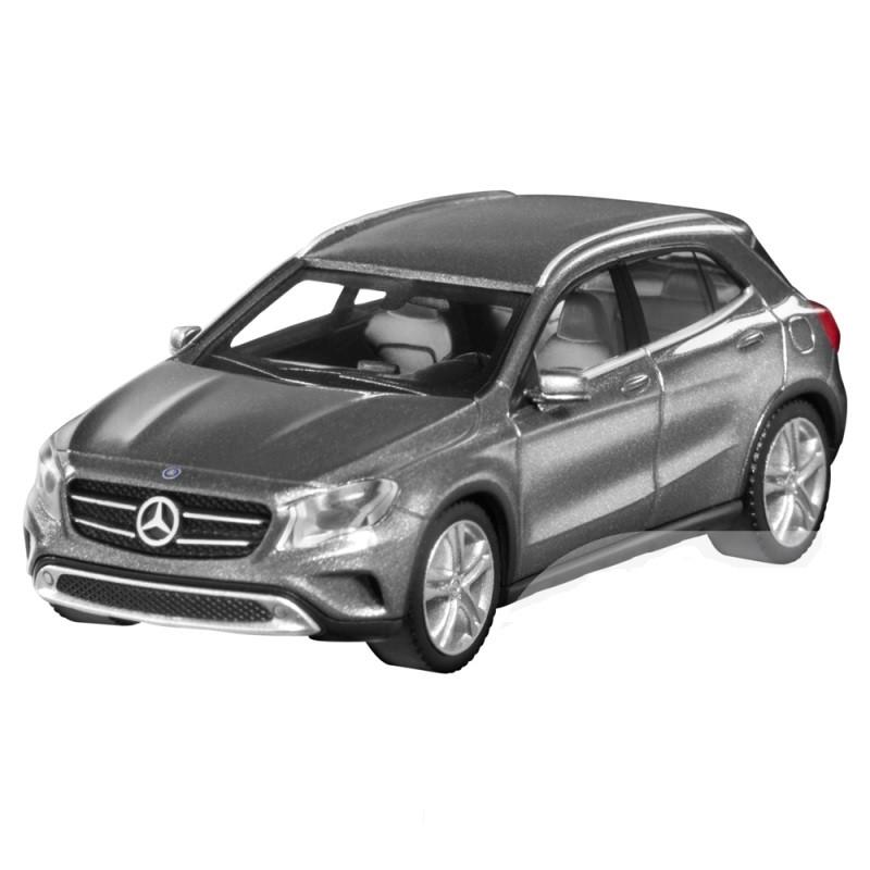 Модель автомобиля Mercedes GLA-Class, Scale 1:87, Mountain Grey, артикул B66960262