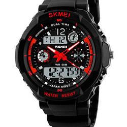Чоловічі годинники Skmei S-Shock Red 0931R