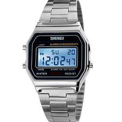 Чоловічі годинники Skmei Popular Silver 1123S