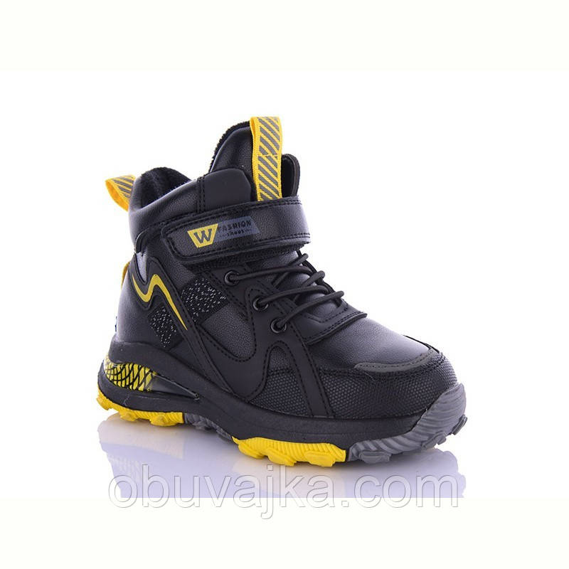 Зимове взуття оптом Черевики для хлопчиків від фірми EeBb (27-32)