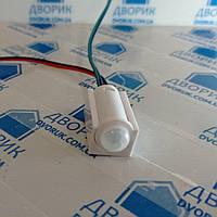 Датчик руху 5-12В 5А в корпусі з проводами і роз'ємами для освітлення, фото 1