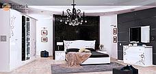 Спальня Богема (белый глянец), фото 2
