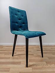 """М'який офісний стілець """"Флойд"""" синій"""