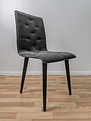 """М'який офісний стілець """"Флойд"""" сірий"""