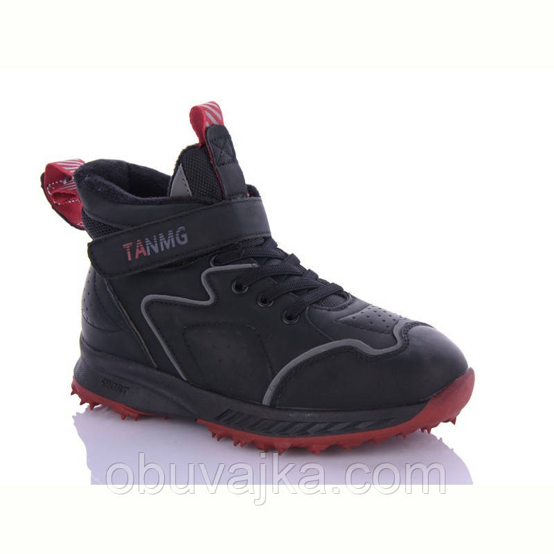 Зимове взуття оптом Черевики для хлопчиків від фірми EeBb (32-37)