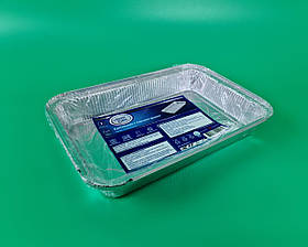Комплект контейнеров алюминиевых, прямоугольных 2100 мл  R86L/2шт (1 пачка)