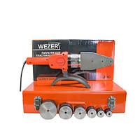 Паяльник плоский для труб Wezer CF63-15A