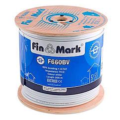 Кабель FinMark F 660 BV white CU бухта 305м