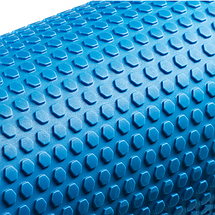 Міофасциальний масажний ролик для тіла Валик масажер для спини ніг Ролер для йоги фітнесу 4FIZJO 45x15 см, фото 3