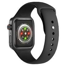 Смарт годинник Z36 голосовий виклик, Розумний спортивний фітнес трекер з тонометром, термометром, Чорний, фото 2