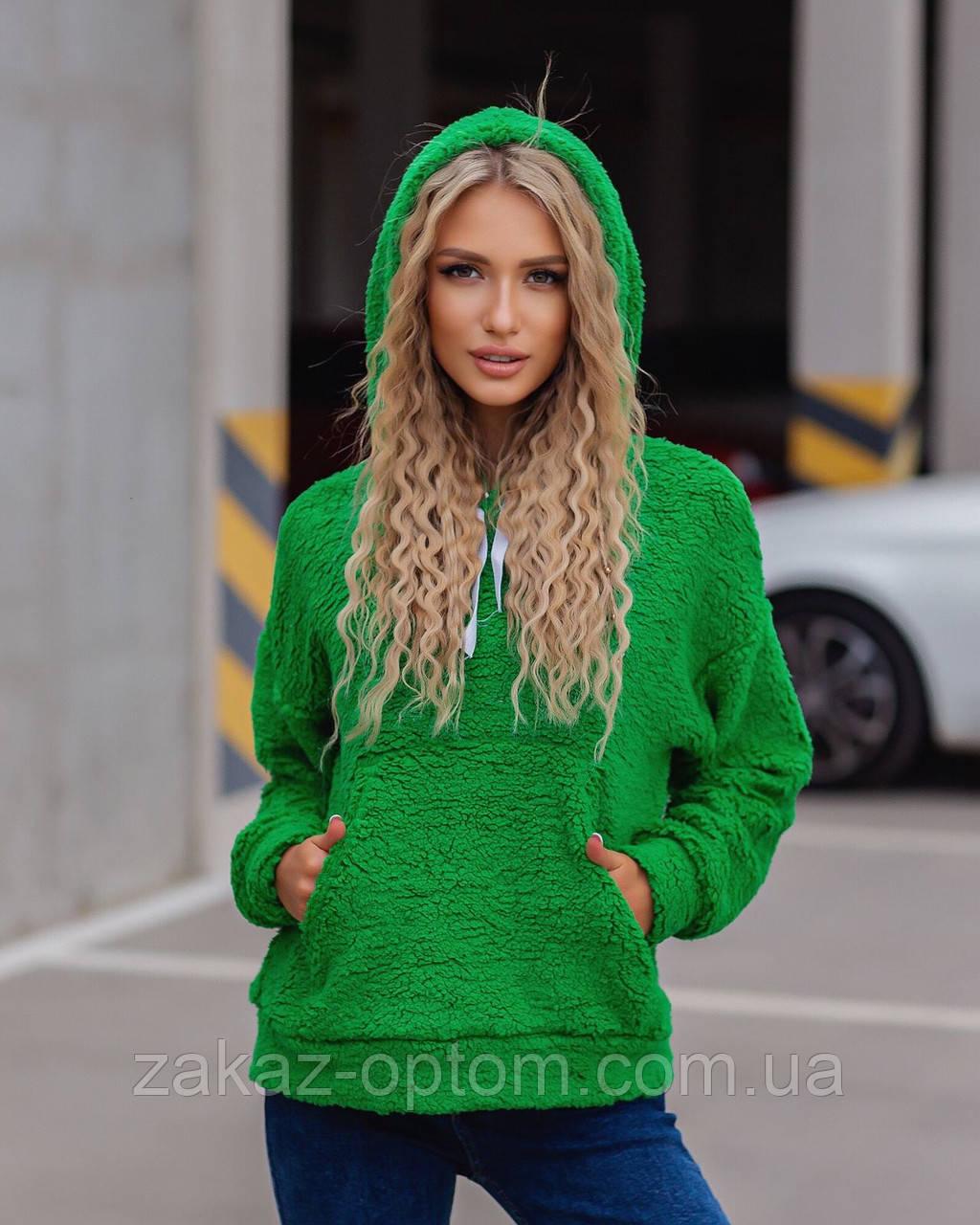 Батник жіночий теди з кишенями оптом(42-44,46-48)Україна 5006-80863