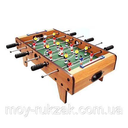 Дитячий ігровий Футбол, дерев'яний, на штангах зі шкалою ведення рахунку 69*37*24 см, 780, фото 2