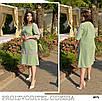Платье трапеция закрытое вельвет 50-52,54-56,58-60, фото 2