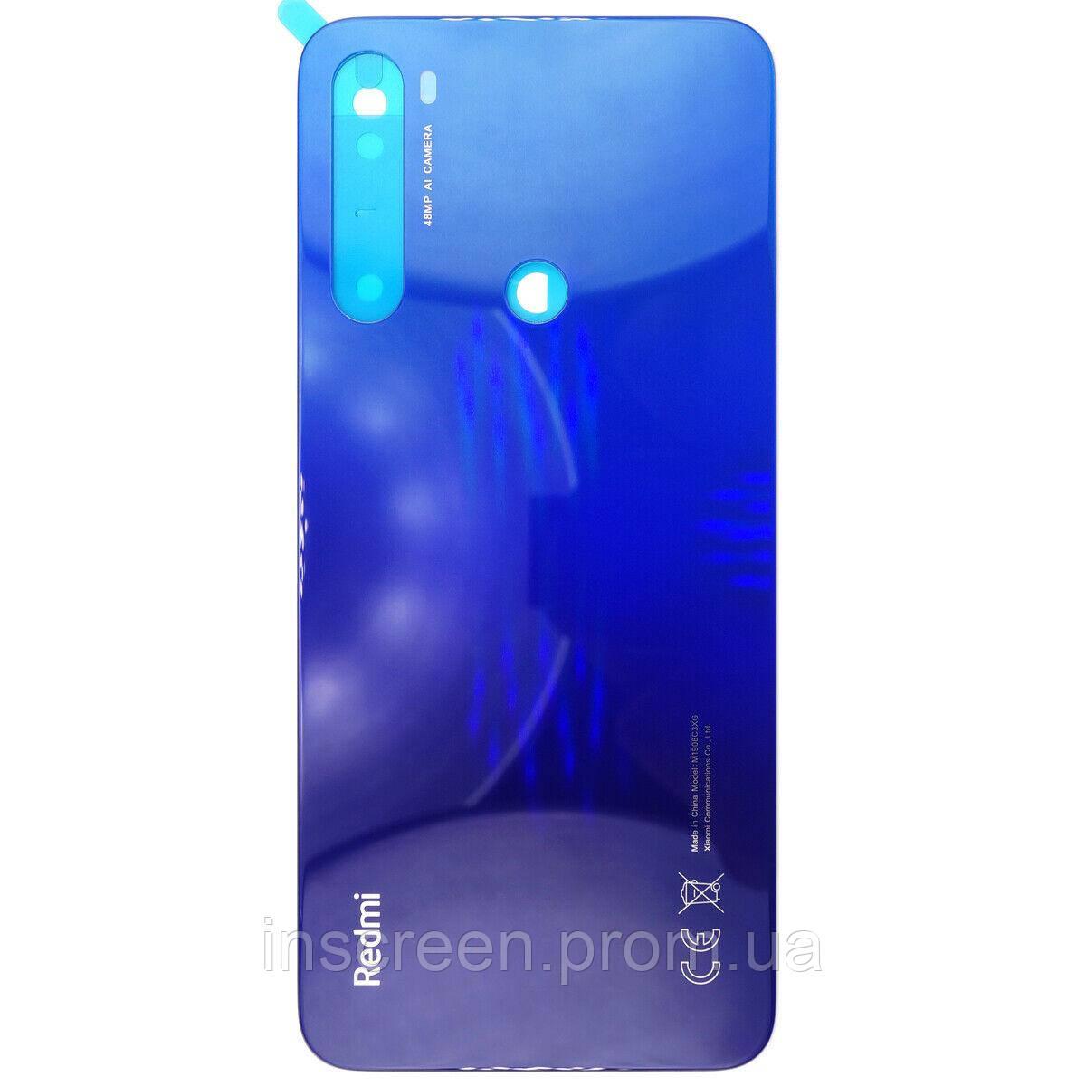 Задня кришка Xiaomi Redmi Note 8T синя Оригінал Китай