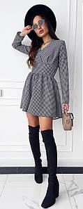Платье MF234 Черно-белое S