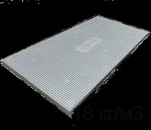 Пінопласт Пенографіт 100мм утеплювач з замком для штукатурного фасаду EPS 100 (ПСБС 25)