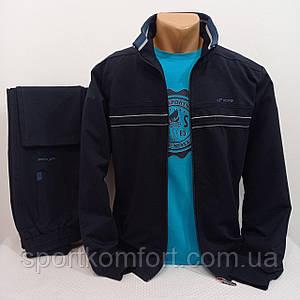 Турецкий демисезонный спортивный костюм FORE  хлопок 74  брюки прямые оригинал