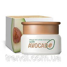 Зволожуючий, омолоджуючий крем з авокадо Laikou