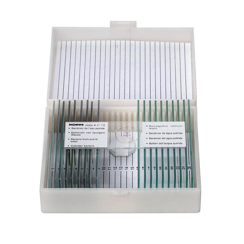 Набор микропрепаратов KONUS Патологические ткани человеческого тела, часть I (10 шт.)
