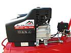 Поршневой воздушный компрессор VULKAN IBL 50B 1,8 кВт 50 л масляный, фото 2