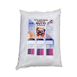 Корм Nutri balance Нутри Баланс для взрослых собак с курицей 10 кг